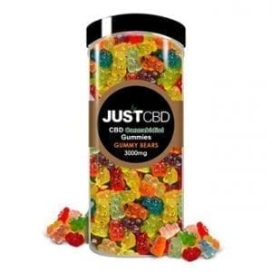 The Green Dragon CBD offers JustCBD Gummy Bears 3000mg. Each gummy has 99.99% CBD hemp isolate which is grown and manufactured in the USA. These delicious gummies come in a clear jar with a wide-mouthed opening and a screw-on lid for freshness.